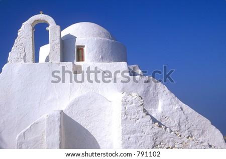 Greek Church - stock photo