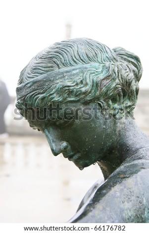Greek goddess - stock photo