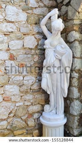 Greek Goddess statue  - stock photo