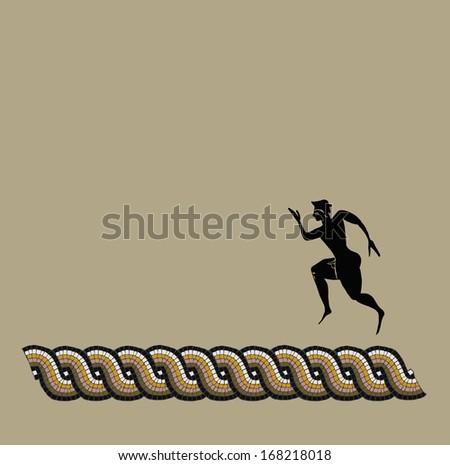 Greek sportsmen - stock photo