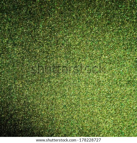 green abstract background grain texture beam of spot light