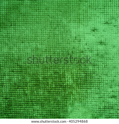green abstract background. Vintage cement texture