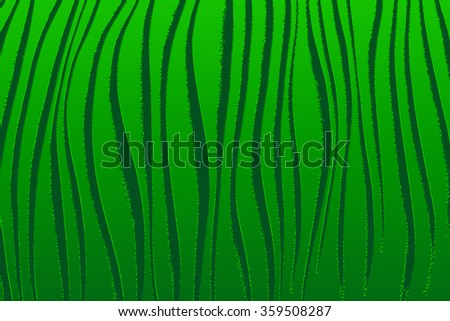 Green abstract background with a pattern of dark bands.