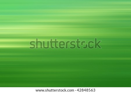 green abstract background with horizontal lines - stock photo