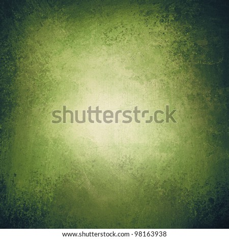 Green Abstract grunge texture background - stock photo