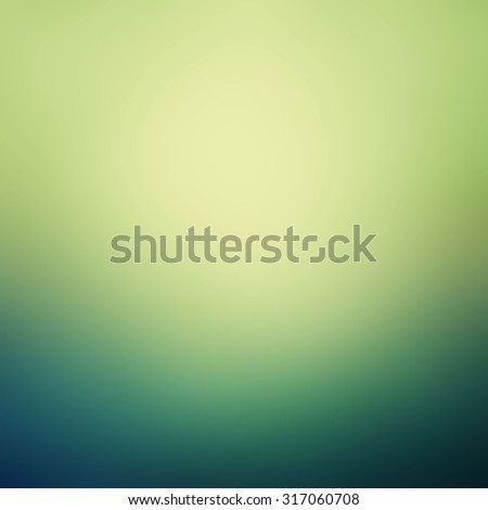 green and blue background with soft colors and soft smooth shiny texture, gradient teal blue and lime green coloring - stock photo