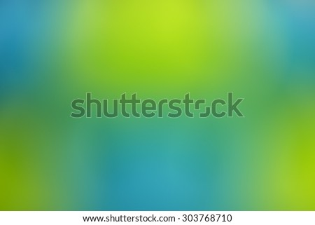 Green and blue blurred abstract background - stock photo
