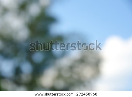 Green and blue  bokeh for background - stock photo