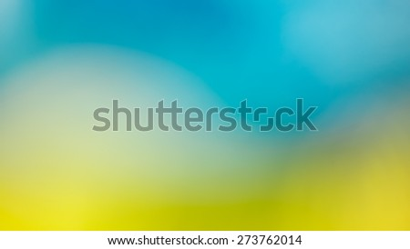 Green and blue out of focus abstract background - stock photo