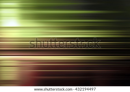Green and brown speed blur background with highlight