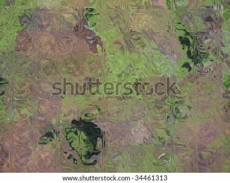 Green and gray abstract background - stock photo