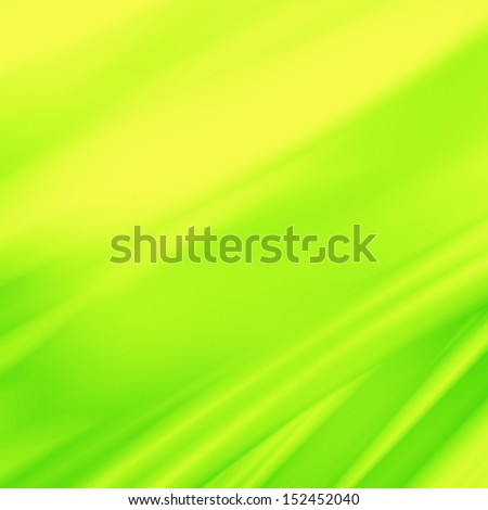 green and yellow abstract background and oblique lines, banner or greeting card template
