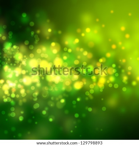 Green and yellow abstract light background