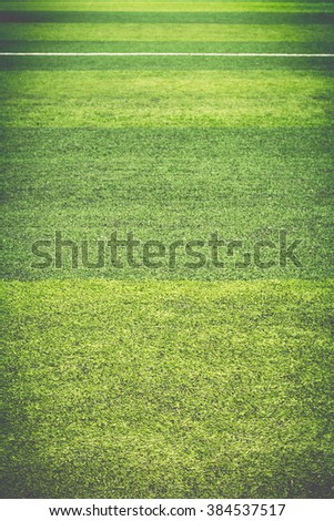Green artificial turf texture that are white line