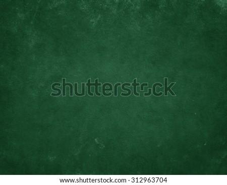 Green background. Green board. Chalkboard - stock photo