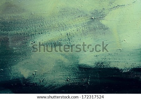 green background illustration design with elegant dark vintage grunge texture and black vignette frame on border with empty blank copy space for ad or brochure  - stock photo