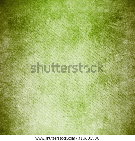 green background , Old vintage texture - stock photo