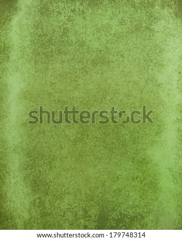 green background paper with old distressed vintage grunge background texture and pale green grungy border, dirty green color paint stains, light green web background design, rustic green brochure ad