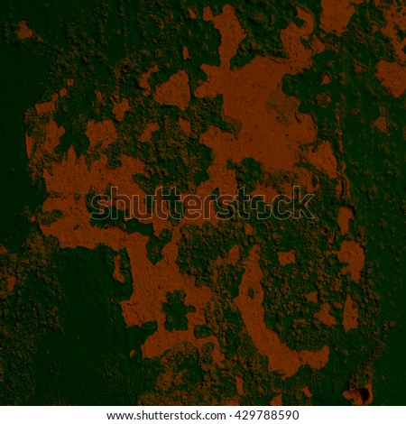 green background texture cement wall