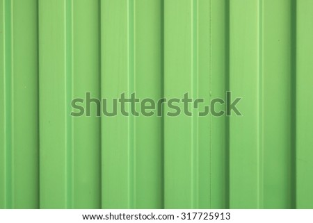 Green background texture of container