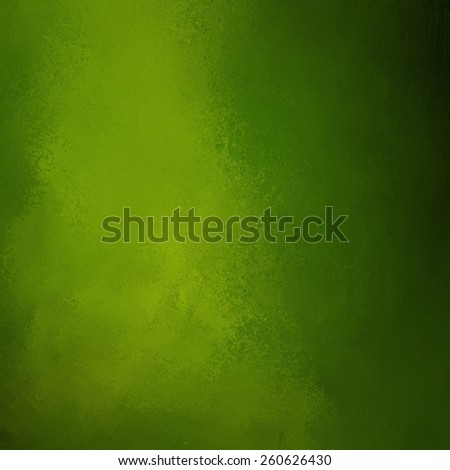 green background with black edges and distressed vintage grunge background texture design - stock photo