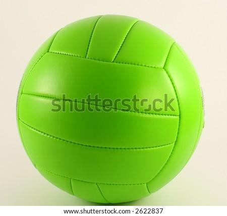 green ball - stock photo