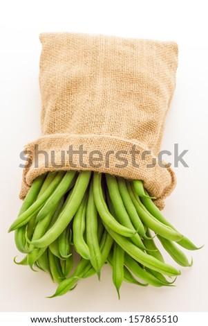 Green beans - stock photo