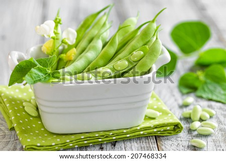 Green beans - stock photo