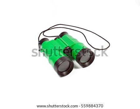 green redhead binoculars