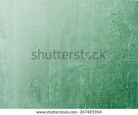 Green blackboard texture background with light source fro upper left hand corner   - stock photo