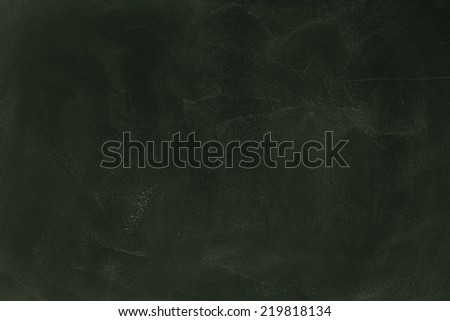 Green Blank Chalkboard/ Green Blank Chalkboard - stock photo