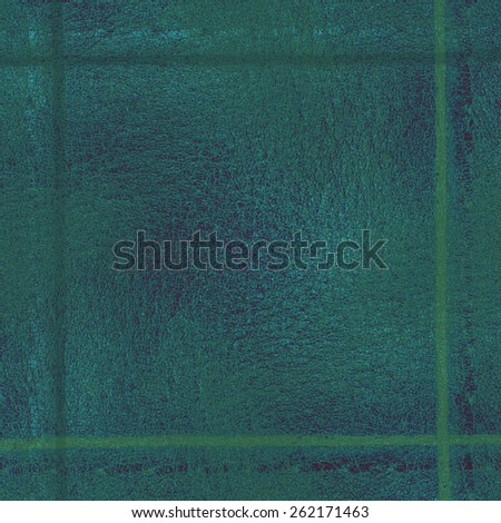 green-blue background based on leather texture, frame