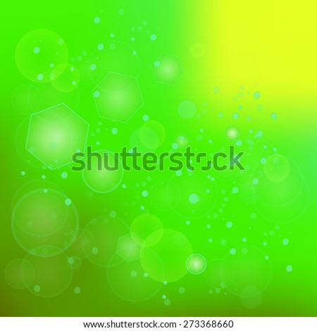 Green Blurred Background. Useful for Your Design. - stock photo