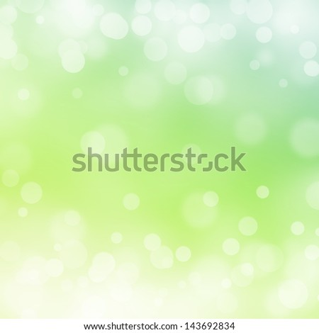 green bokeh abstract light backgrounds