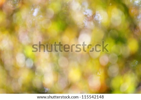 Green bokeh background - stock photo