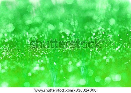 green bokeh background, abstract background