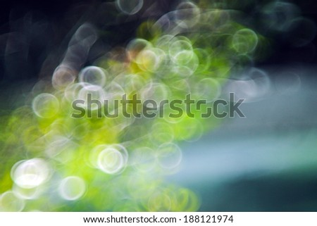 Green bokeh defocus art abtracts background from trees. - stock photo