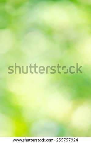 Green Bokeh texture or background. - stock photo
