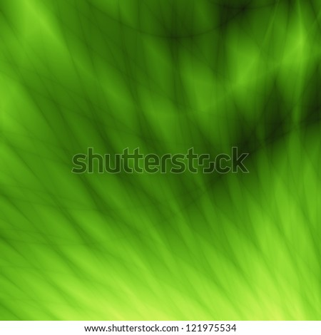 Green bright website template design - stock photo