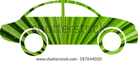 green car concept  - stock photo