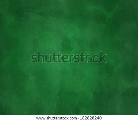 Green Chalk Board - stock photo