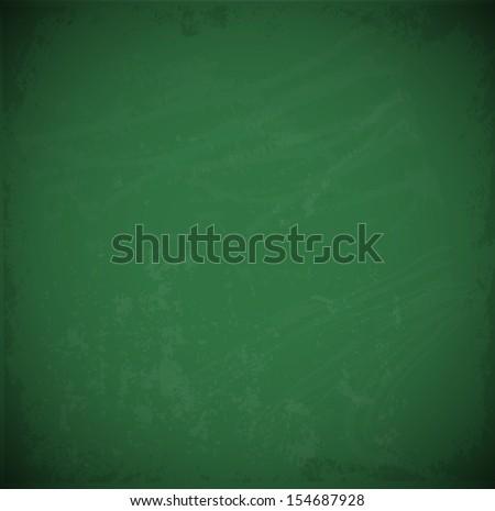 Green chalkboard background. - stock photo