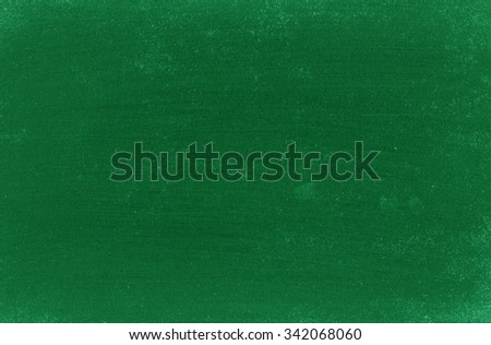 Green chalkboard. Green background - stock photo