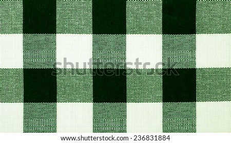 green Cloth Background - stock photo