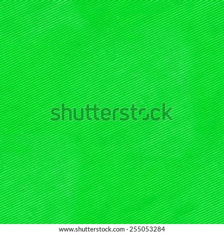 Green cloth fabric with stripes seamless texture - stock photo