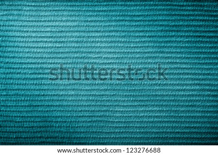 Green Corduroy Fabric Texture