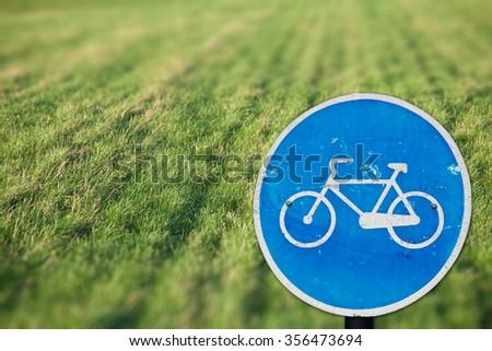 Green cycling - stock photo