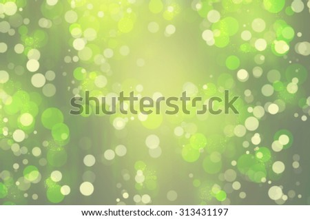 Green defocused blurred background