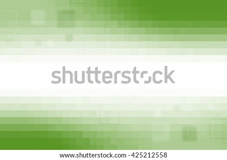 green digital abstract background - stock photo