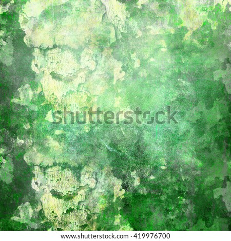 Green dirty background